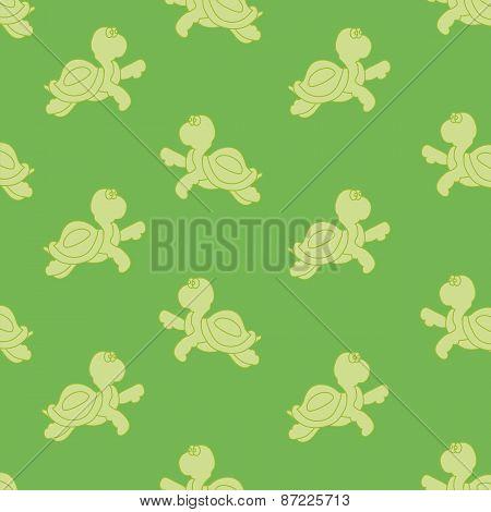 Turtles (green Background)