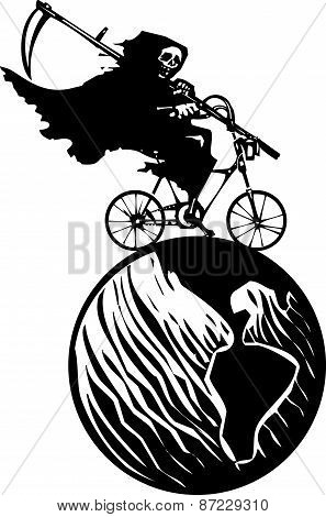 Death Bicycle And Earth