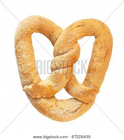 Wheat flour pretzel