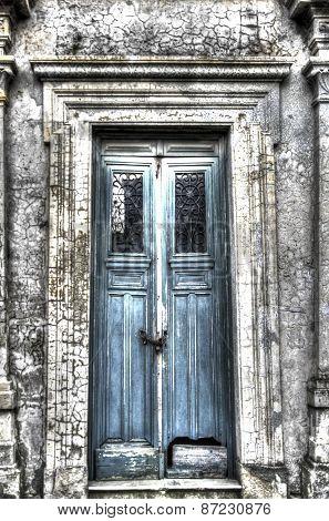 tomb door