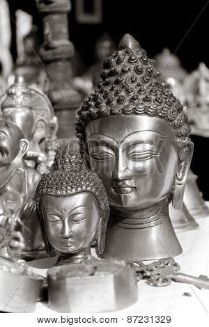 Lord Buddha Metal Statue