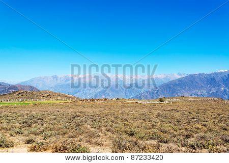 Colca Canyon Landscape