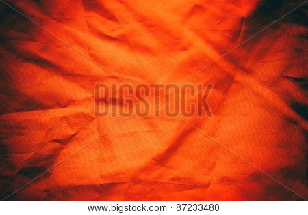 Red Textile Background Or Texture
