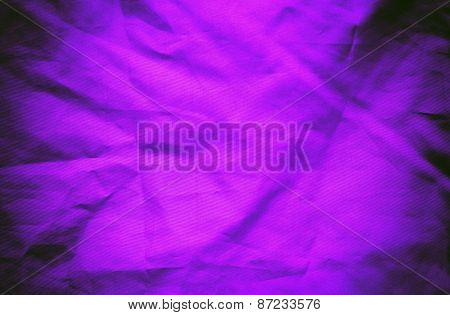 Violet Textile Background Or Texture