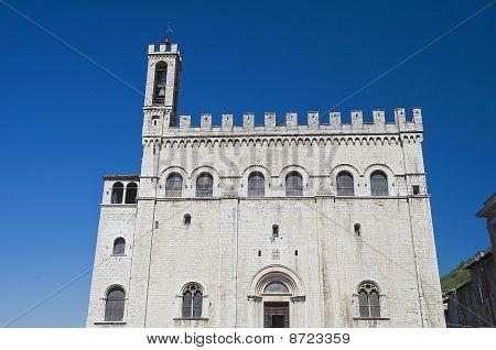 Consuls Palace. Gubbio. Umbria.