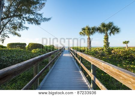Boardwalk to a Beach