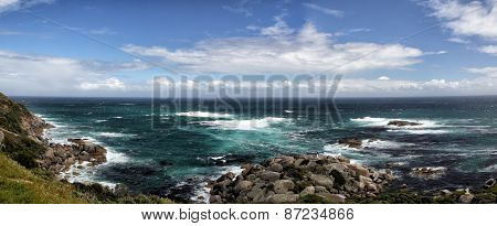 Rocky Coast Near Cape Town
