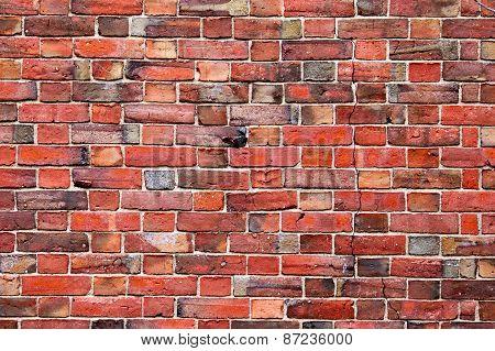 Red brick wall pattern texture backdrop wallpaper