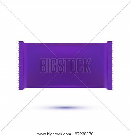 Plastic Pack Template . Vector