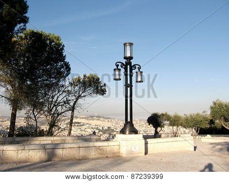Jerusalem Haas Promenade Lantern 2010