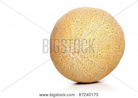 Studio shot of melons on white background