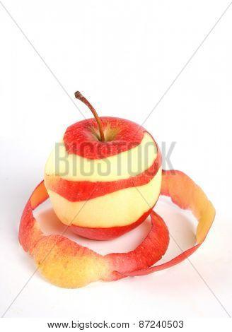 Apples on white background - studio shot