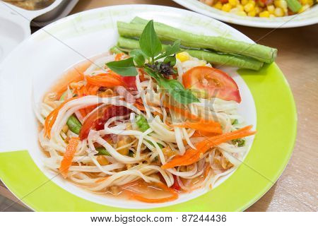 Som Tum, Thai Papaya Salad