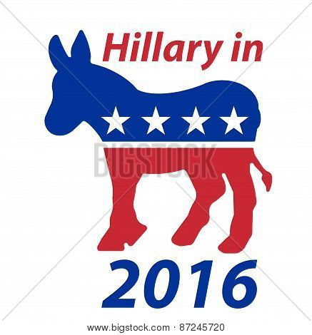A Democratic Donkey