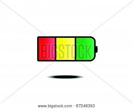 battery logo design template
