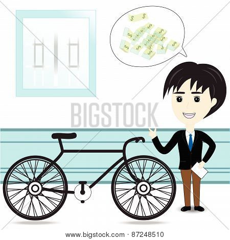Bicycle Salesman