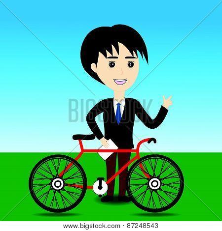 Salesman Bicycle