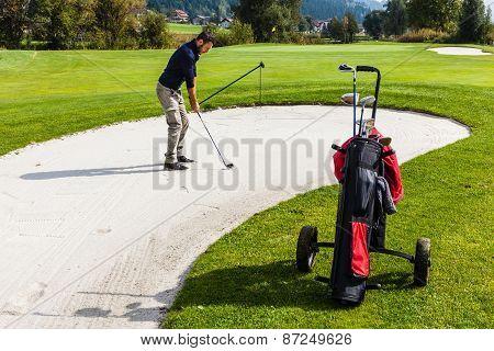 Sand Trap Hazard