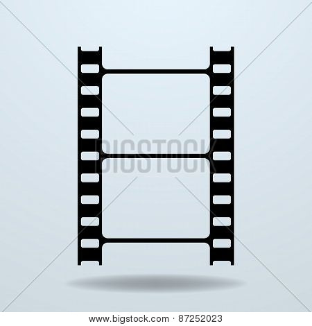 Icon Of Film Frame. Cinema Film.