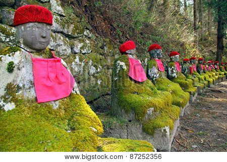 Stone Statues In Japan