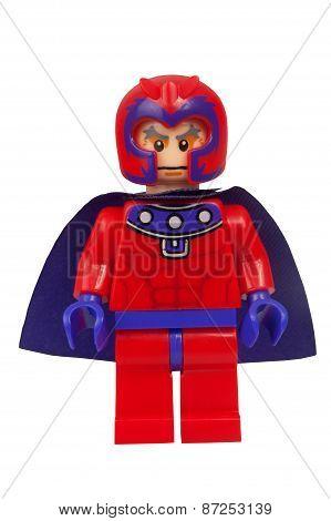 Magneto Custom Lego Minifigure