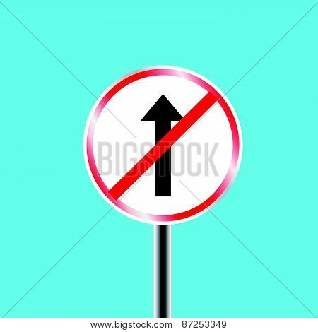 Do not overtake traffic sign