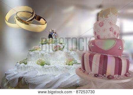 A Wadding Cake