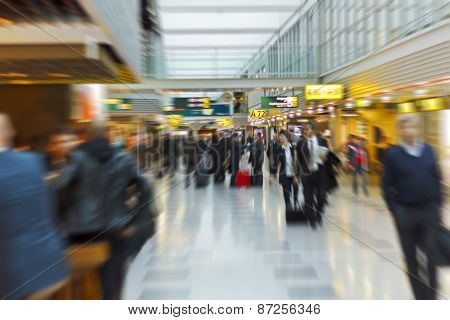 People At The Airport.people At The Airport