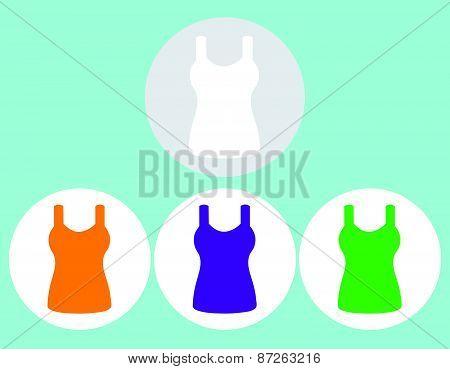 Singlet, sleeveless