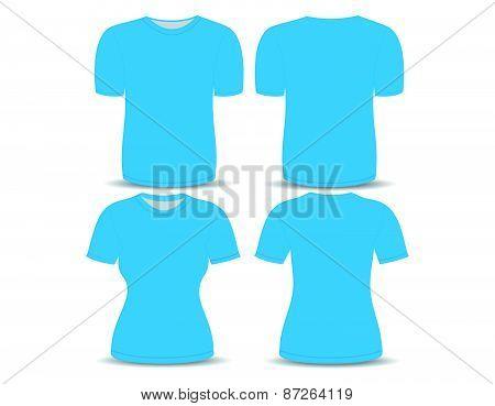 T-shirt black template