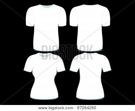 T-shirt White Template