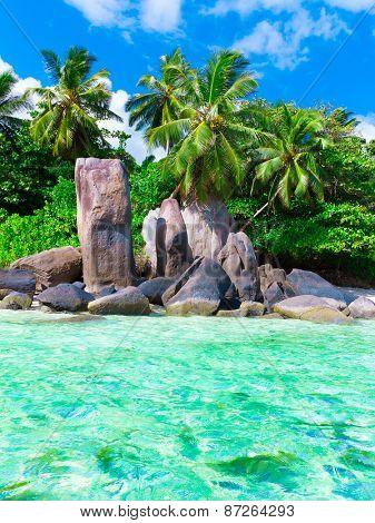 Stones Beach Shore