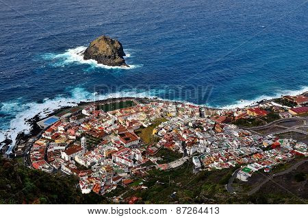 View Of The Town Of Garachico