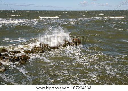 Stones In Sea