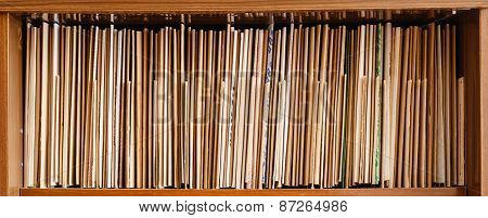 Keeping Records On Brown Shelves, Business Background