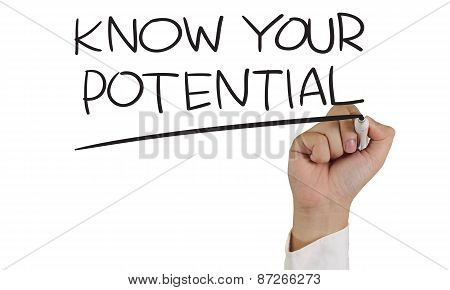 Know Your Potential