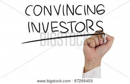 Convincing Investors