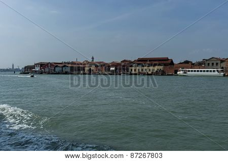 Murano,  Italy, small island near Venice, famous for blown glass.