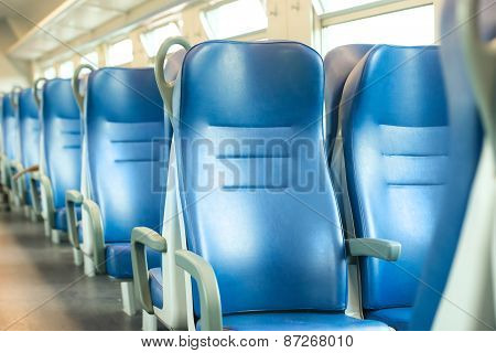 Empty Blue Seats