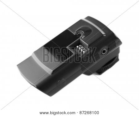 Wireless Flash Trigger isolated on white