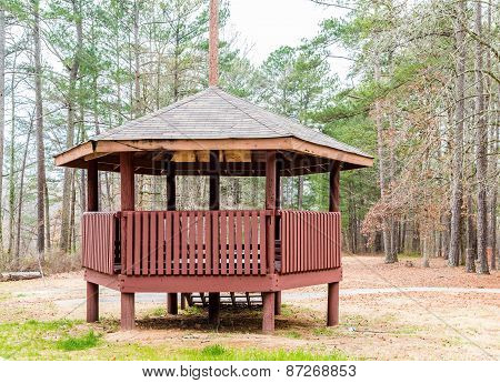 Treated Lumber Gazebo