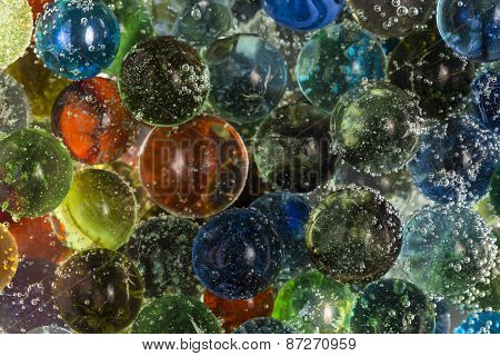 Marbles In Soda