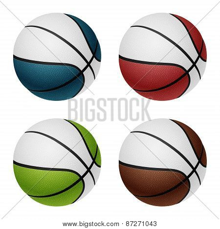 Combinated Basketballs