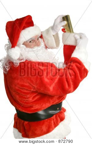 Santa Stuffing Stockings