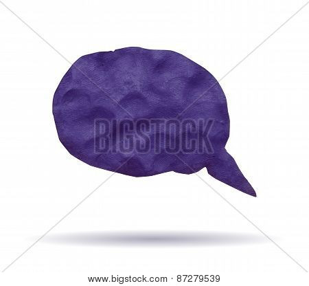 Violet clay banner