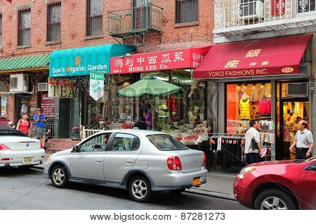 New York Chinatown