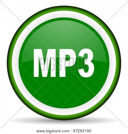 mp3 green icon
