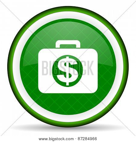 financial green icon