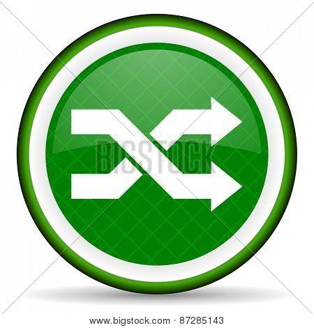 aleatory green icon
