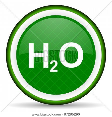 water green icon h2o sign